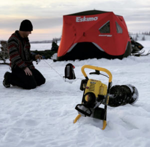 Yellowknife ice fishing